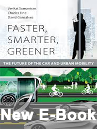 Faster, smarter, greener: The future of the car and urban mobility cover