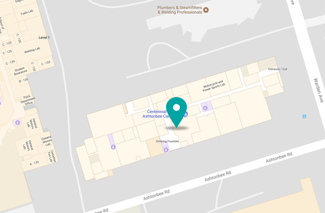 Morningside College Campus Map.Centennial College Hours And Locations